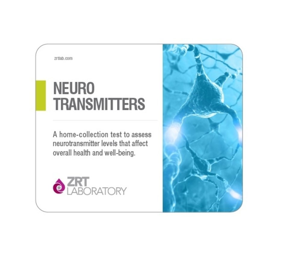ZRT Labs 8 Panel Neurotransmitters Diagnostic Home Urine Test Kit - NeuroBasic Profile Screening