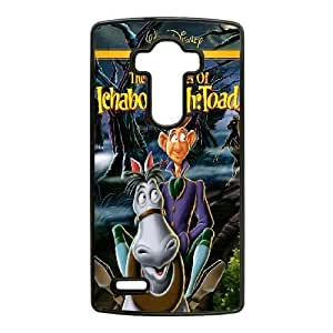 Durable Rubber Cases LG G4 Cell Phone Case Black Motrq The Adventures of Ichabod and Mr. Toad Protection Cover