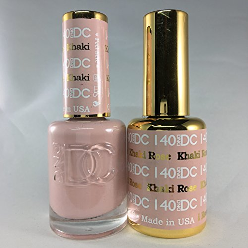 DND DC Duo Gel + Polish - 140 Khaki Rose