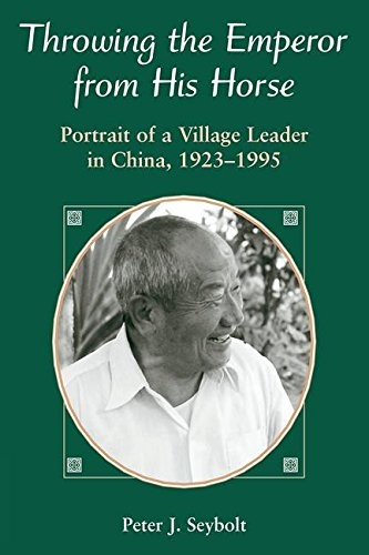 Throwing The Emperor From His Horse: Portrait Of A Village Leader In China, (Flame Throwing)