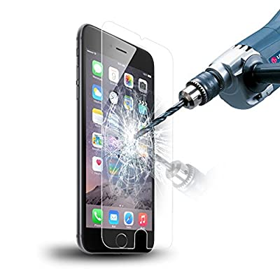 "Poweraddâ""¢ Tempered Glass Screen Protector for iPhone 6 4.7"