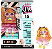 L.O.L. Surprise! JK Neon Q.T. Mini Fashion Doll with 15 Surprises