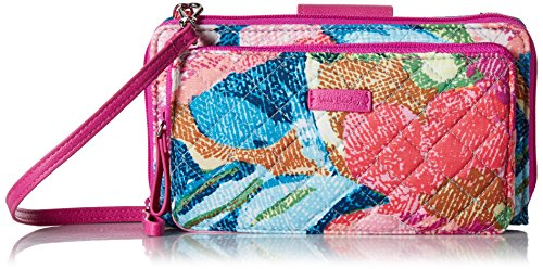 Vera Bradley Iconic Deluxe All Together Crossbody, Signature Cotton, Superbloom