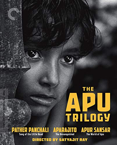 The Apu Trilogy (Pather Panchali/Aparajito/Apur Sansar) (The Criterion Collection) [Blu-ray]