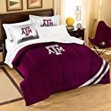 NCAA Texas A&M Aggies Twin/Full Size Comforter with Sham Set
