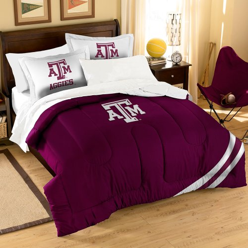 NCAA Texas A&M Aggies Twin/Full Size Comforter with Sham Set by Northwest