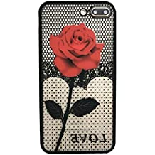 Mobile Phone Case, Aobiny Thin Mesh Rose Heat Dissipation Case Cover For iphone 7 Plus 5.5inch