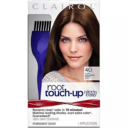 Nice 'n Easy Root Touch-Up, Dark Golden Brown [4G] 1 ea (Pack of 3) by Clairol
