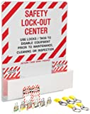 Brady Prinzing Lockout Center, Includes booklets, tags, locks, hasps
