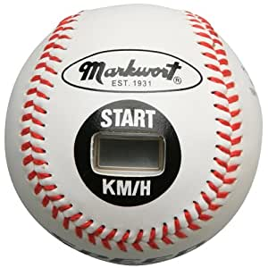 Markwort Speed Sensor Kilometer White Cover 9-Inch Baseball