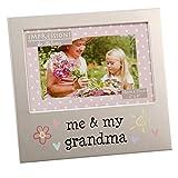Oaktree Gifts Me & My Grandma Aluminium Photo Frame 4 x 6