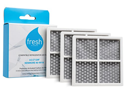 ore 469918 Replacement Refrigerator Air Filter, 3 Pack ()