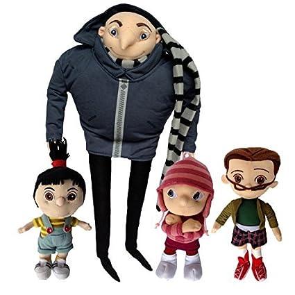 Amazon com: One Set of 4 PCS Despicable Me Character Plush