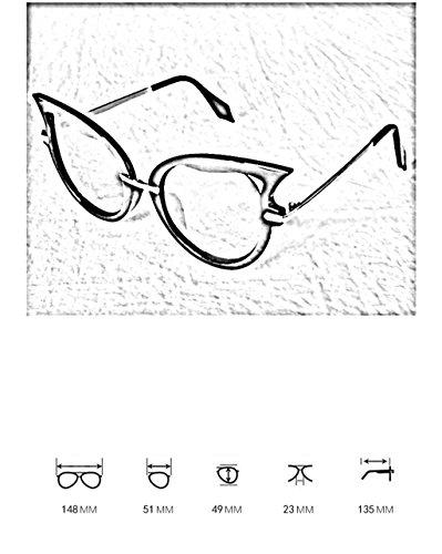 Coreana de 8 Las la señoras la Gafas 3 de Gafas Manera Color sol sol de protección X562 Gafas protección de de Ultravioleta 7YppRB