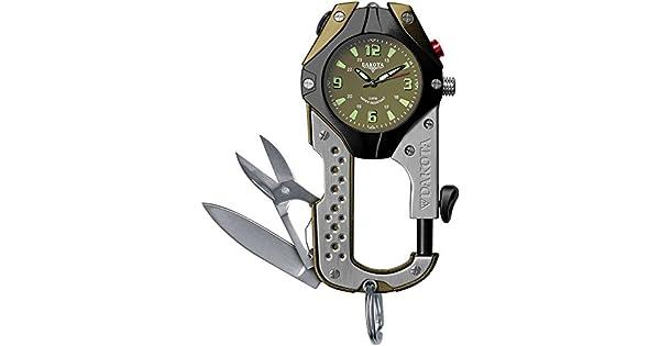 Amazon.com: Dakota cuchillo Clip Reloj: Dakota: Jewelry