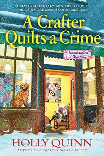 Image of A Crafter Quilts a Crime: A Handcrafted Mystery