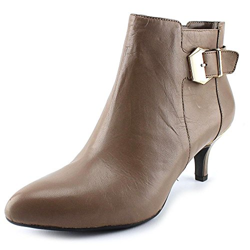Ankle Taupe Booties Taupe Faeryn Klein Leather Anne 6qYxvEtT