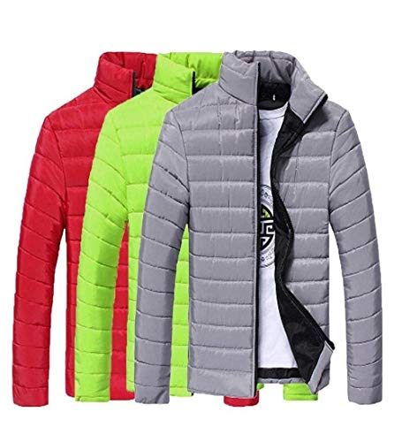 Down Quilted Packable Stand Down Parka Fit Warm Jacket Collar Slim Jacket Lightweight Long Winter Apparel Thick Men Jacket Sleeve Jacket Grau Coat Coat Outdoor U1wxzq8AH