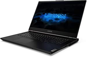 "Lenovo Legion 5 17.3"" Full HD Gaming Notebook Computer, Intel Core i7-10750H 2.6GHz, 16GB RAM, 256GB SSD + 1TB HDD, NVIDIA GeForce RTX 2060 6GB, Windows 10 Home, Phantom Black"