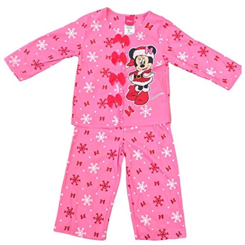 2b07500d1d delicate Disney Minnie Mouse Little Girls  Toddler Long Sleeve 2 PC Pajama  Set