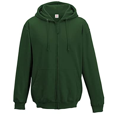 ea7b0318a Star and Stripes Bottle Green Unisex Zip Up Hoodie Plus 1 T Shirt ...