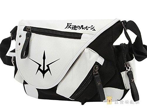 Siawasey Code Geass Anime C.C. Cosplay Backpack Messenger Bag Shoulder Bag