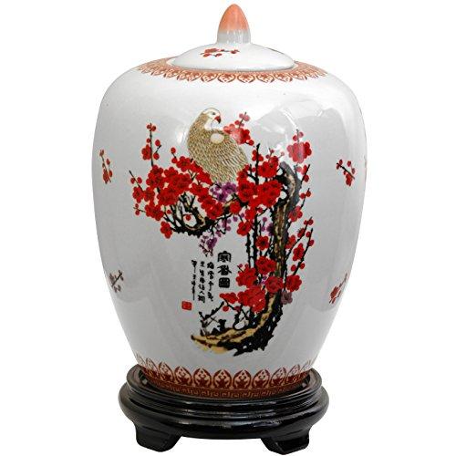 Chinese Ginger Jar (Oriental Furniture 11