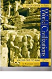World Civilizations to 1500, Adler, Philip J., 0534569102