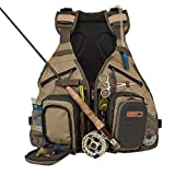 Anglatech Fly Fishing Backpack Vest Combo Chest Pack for Tackle Gear and Accessories, Includes Water Bladder, Adjustable Size for Men and Women Review