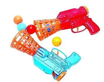 2 Pistolas Lanza pelotas: Amazon.es: Juguetes y juegos