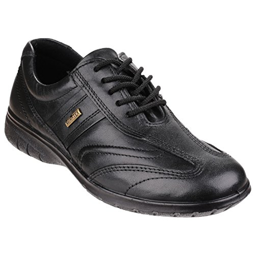 Cotswold Womens/Ladies Simbrook Mir Tex Waterproof Leather Shoes Black