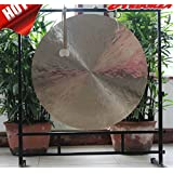 """30"""" wind gong without gong stand Art Brass Fengshui desktop Asian"""