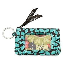 Disney Mickey's Perfect Petals Zip ID Case by Vera Bradley