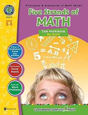 Five Strands of Math - Tasks Big Book Gr. 6-8, Nat Reed, Mary ...