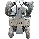 Skid plate Offroad Can Am L 450/ L 500, 2015-2016 Complete set including front A-Arm guards in 4mm (1 37/64 in) aircraft aluminum