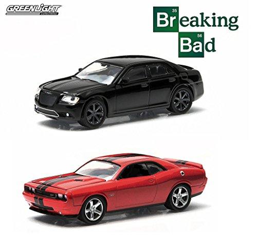 "Set of 2: ""Breaking Bad"" Challenger and Chrysler 300 1:64..."