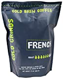: Cold Brew Coffee Packs - EASY at Home Brewing - Our BIG Bag Makes 200 oz of BOLD Cold Brew - 66% Less Acidic - Cold Grinds French (Dark Roast)