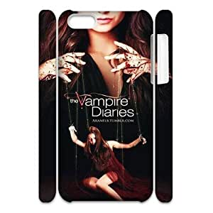 linJUN FENGCool Painting The Vampire Diaries Custom 3D Cover Case for iphone 6 4.7 inch,diy phone case case-339869
