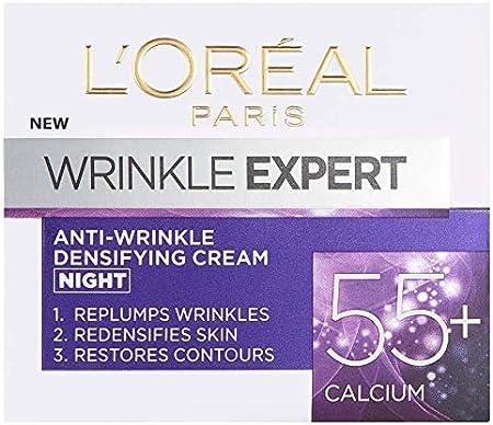 Dermo expertise L 'Oreal Paris arrugas experto 55Plus Crema de Noche, 50ml
