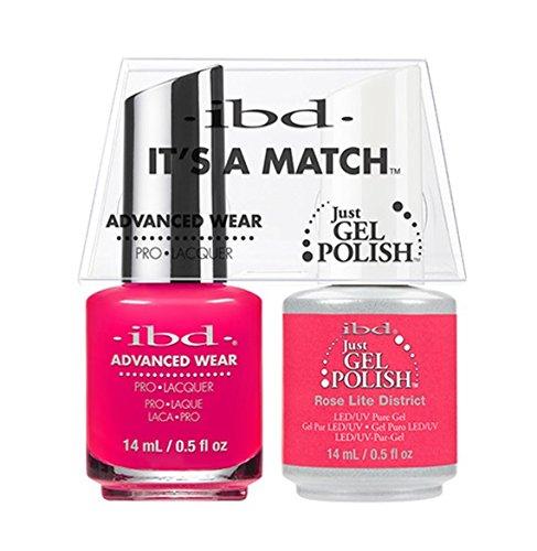 ibd Advanced Wear Color Duo Rose Lite District #493 UV Gel C