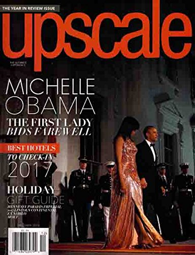 Upscale Magazine (December, 2016) Michelle Obama Cover
