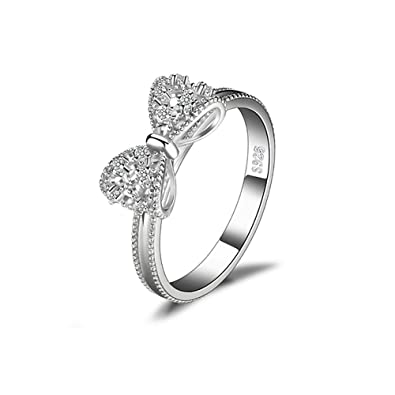 2e68a084d8bdb Buy Women's Fashion Ring Silver Ring Best Promise Rings for Ladies ...