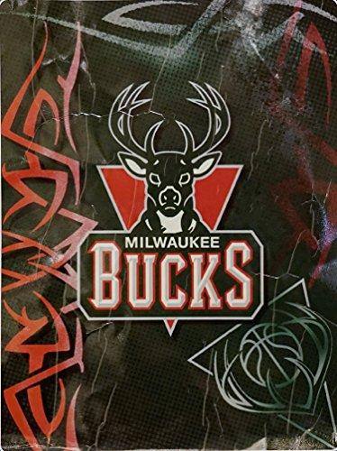 Milwaukee Bucks Blanket Bucks Plush Throw