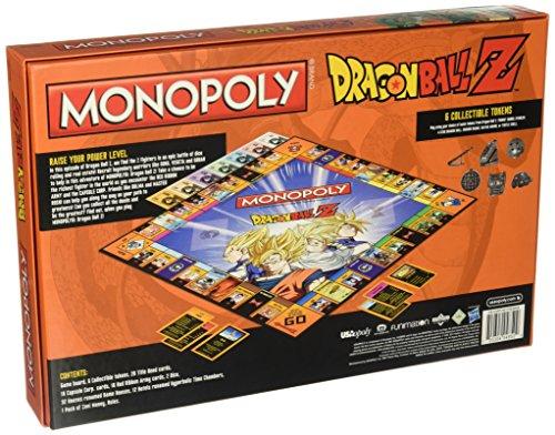 USAopoly Dragon Ball Z Edition Monopoly Board Game