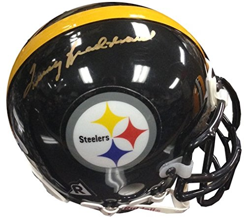 Terry Bradshaw JSA Autographed Steelers Football Helmet-Mini