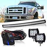 "Best 42 Inch Led T Vs - DOT 54"" Inch Curved Led Light Bar Combo Review"