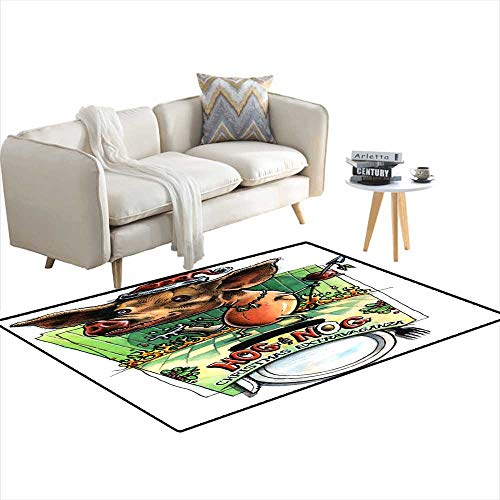 Area Rugs for Bedroom Hog & Nog Christmas Invite Backgroun- Just AdText - Christmas Invite