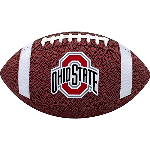 NCAA Ohio State Buckeyes Official Size Composite Football by Football Fanatics