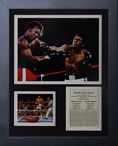 - Legends Never Die Muhammad Ali - Rumble in The Jungle - Framed 12