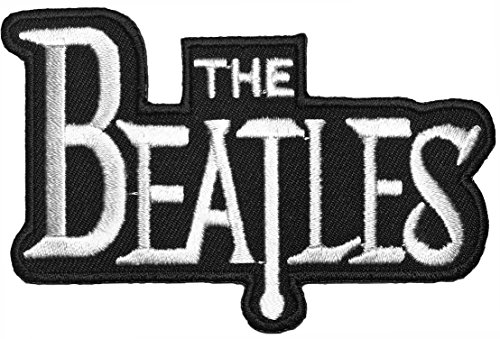 [The Beatles Band Music Symbol Logo Sewing Iron on Embroidered Appliques Badge Sign Costume Patch - Black] (Leeloo Cosplay Costume)